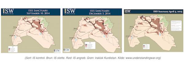 Islamisk Stat i Irak september 14 til April 15